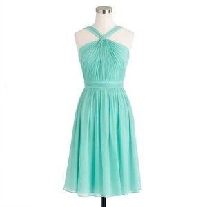 JCrew Sinclair Dress in Silk Chiffon